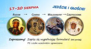 II Pielgrzymka na rolkach z Radomia do Częstochowy @ Parafia pw. MB Częstochowskiej w Radomiu | Radom | mazowieckie | Polska
