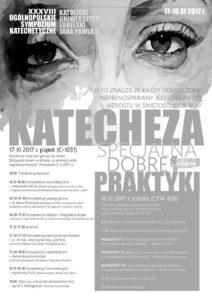 XXXVIII. Ogólnopolskie Sympozjum Katechetyczne na KUL @ Katolicki Uniwersytet Lubelski   Lublin   lubelskie   Polska