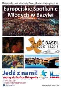 Pielgrzymka zaufania przez ziemię - Taizé-Bazylea 2017 @ Taizé-Bazylea 2017 | Bazylea | Bazylea-Miasto | Szwajcaria
