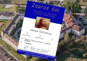 Zaproś GO! – Rekolekcje dla pytających o wiarę i drogę życiową @ Wyższe Seminarium Duchowne w Radomiu | Radom | mazowieckie | Polska