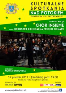Koncert kolęd w wykonaniu Chóru Insieme i Orkiestry Fresco Sonare z Krakowa @ Oratorium Św. Filipa Neri w Radomiu | Radom | mazowieckie | Polska