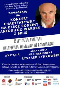 Koncert na rzecz potrzebującej rodziny na Pomorzu @ Hala Sportowa w Suchedniowie | Suchedniów | świętokrzyskie | Polska