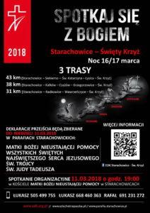 Ekstremalna Droga Krzyżowa 2018 - Starachowice - Święty Krzyż @ Starachowice - Święty Krzyż | Starachowice | świętokrzyskie | Polska