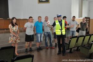 Szkolenie dla kierujących ruchem na Pieszej Pielgrzymce na Jasną Górę