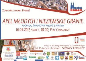 Apel Młodych 2017 @ Plac przed Urzędem Miasta w Radomiu | Radom | mazowieckie | Polska