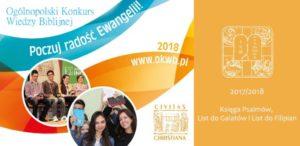 Konkurs Wiedzy Biblijnej - etap diecezjalny (Civ.Chirst.) @ Oratorium Św. Filipa Neri w Radomiu | Radom | mazowieckie | Polska