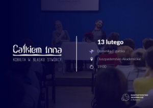 Całkiem Inna - 25. Spotkanie Kobiet @ Duszpasterstwo Akademickie w Radomiu | Radom | mazowieckie | Polska