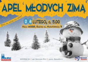 Zimowy Apel Młodych @ MOSiR Radom | Radom | mazowieckie | Polska