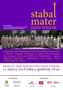"""""""Stabat Mater"""" w radomskiej katedrze @ Katedra pw. Opieki NMP w Radomiu   Radom   mazowieckie   Polska"""