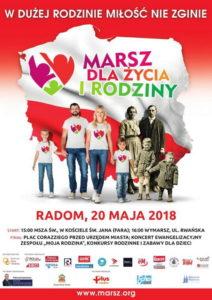 VII. Marsz dla Życia i Rodziny @ Kościół pw. św. Jana w Radomiu (fara) | Radom | mazowieckie | Polska