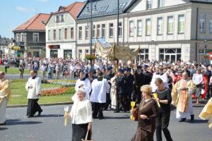 Centralna Procesja w Uroczystość Bożego Ciała @ Radom: Fara -> Żeromskiego -> Sienkiewicza -> Moniuszki -> Katedra | Radom | mazowieckie | Polska