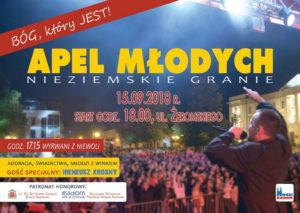Apel Młodych 2018 @ Radom, Plac Corazziego | Radom | mazowieckie | Polska