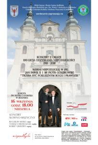 Koncert: Trzeba być posłusznym Bogu i prawdzie @ Kościół pw. Świętych Apostołów Piotra i Andrzeja w Jedlińsku | Jedlińsk | mazowieckie | Polska