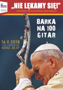 Barka na 100 gitar. Apel Papieski @ Radom, Plac Corazziego | Radom | mazowieckie | Polska