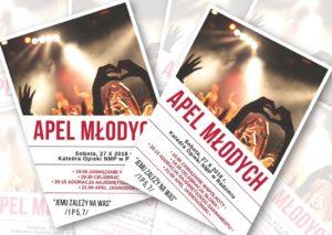 Synodalny Apel Młodych w Radomskiej Katedrze @ Katedra pw. Opieki NMP w Radomiu | Radom | mazowieckie | Polska