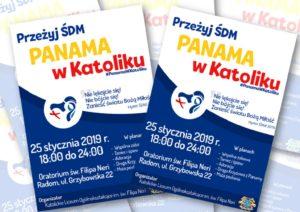 Przeżyj ŚDM2019 - Panama w Katoliku @ Oratorium św. Filipa Neri w Radomiu | Radom | mazowieckie | Polska