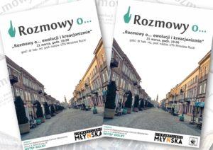 Rozmowy o... ewolucji i kreacjonizmie @ Centrum Wolontariatu Międzynarodowego w Radomiu | Radom | Polska