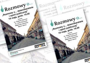 Rozmowy o... dziennikarstwie i opinii publicznej @ Kawiarnia ARKA | Radom | mazowieckie | Polska