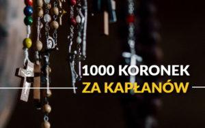 1000 Koronek za Kapłanów @ Duszpasterstwo Akademickie w Radomiu | Radom | mazowieckie | Polska