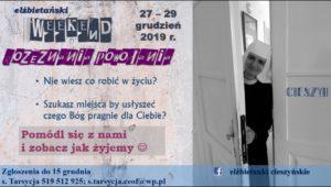 Weekend u Elżbietanek @ Siostry Elżbietanki Cierszyńskie (ul. Katowicka 1, 43-400 Cieszyn) | Cieszyn | śląskie | Polska
