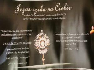 Jezus czeka na Ciebie - spotkania dla dziewcząt @ Zgromadzenie Córek św. Franciszka Serafickiego w Sandomierzu | Sandomierz | świętokrzyskie | Polska