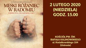 Męski Różaniec @ Kościół pw. św. Rafała Kalinowskiego w Radomiu | Radom | mazowieckie | Polska