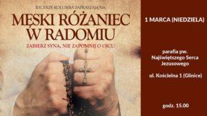 Męski Różaniec @ Kościół pw. Najświętszego Serca Jezusowego w Radomiu | Radom | mazowieckie | Polska