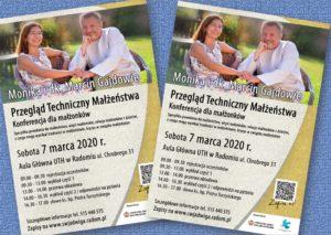 Przegląd techniczny małżeństwa. Konferencja dla małżonków @ Aula główna UTH w Radomiu | Radom | mazowieckie | Polska