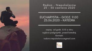 XXXI. Piesza Pielgrzymka w intencji trzeźwości z Radomia do Niepokalanowa @ Radom -> Niepokalanów | Paprotnia | Mazowieckie | Polska