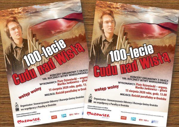 Orońsko: Koncert organowy z okazji 100. rocznicy Bitwy Warszawskiej @ Kościół pw. Wniebowzięcia NMP w Orońsku | Orońsko | Mazowieckie | Polska