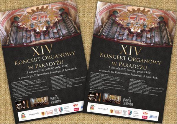 XIV. Koncert Organowy w Paradyżu @ Sanktuarium Chrystusa Cierniem Koronowanego oraz Krwi Zbawiciela w Wielkiej Woli – Paradyżu | Paradyż | Łódzkie | Polska