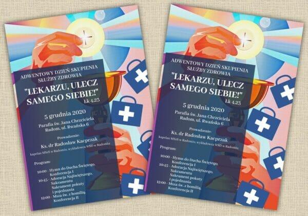 Adwentowy Dzień Skupienia Służby Zdrowia @ Parafia pw. św. Jana Chrzciciela w Radomiu | Radom | Mazowieckie | Polska