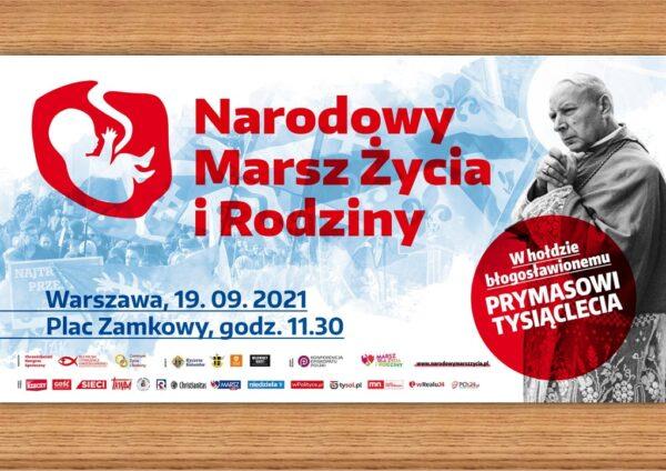 Narodowy Marsz dla Życia @ Plac Zamkowy, Warszawa | Warszawa | Mazowieckie | Polska