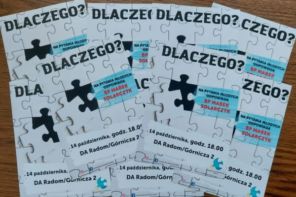 Spotkanie dla młodzieży szkolnej @ Duszpasterstwo Akademickie w Radomiu | Radom | Mazowieckie | Polska